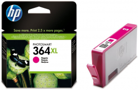 Tusz HP 364XL (CB324EE, CB324HE), 750 stron, magenta (purpurowy)