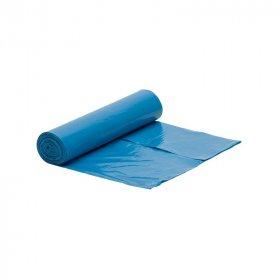 Worki na śmieci, 60l, 20 sztuk, niebieski