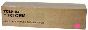 Toner Toshiba (T-281CEM), 10000 stron, magenta (purpurowy)