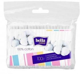 Patyczki do uszu Bella, w folii, 100 sztuk
