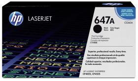 Toner HP CE260A (647A), 8500 stron, black (czarny)