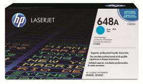 |Toner HP CE261A (648A), 11000 stron, cyan (błękitny)
