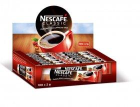 Kawa rozpuszczalna w saszetkach Nescafé Classic, 100 sztuk x 2g