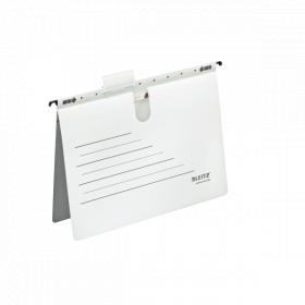 Skoroszyt zawieszany Leitz Alpha Active, A4, biały, 225g
