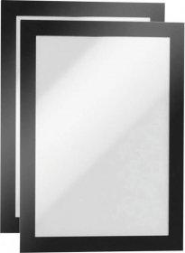 Ramka samoprzylepna Durable Duraframe, A5, 2 sztuki, czarny