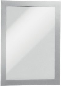 Ramka samoprzylepna Durable Duraframe, A5, 2 sztuki, srebrny