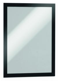 Ramka samoprzylepna, magnetyczna Durable Duraframe, A4, 2 sztuki, czarny