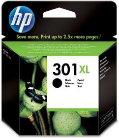 Tusz HP, CH563EE, nr 301XL, 480 stron, czarny