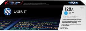 Toner HP 128A (CE321A), 1300 stron, cyan (błękitny)