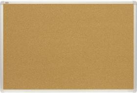 Tablica korkowa 2x3, w ramie aluminiowej, 150x100cm, brązowy
