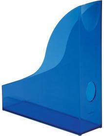 Pojemnik na dokumenty Durable Basic, A4, 73mm, do 730 kartek, przezroczysty niebieski