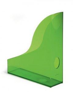 Pojemnik na dokumenty Durable Basic, A4, 73mm, do 730 kartek, przezroczysty zielony