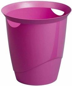 Kosz na śmieci Durable Trend, 16l, różowy