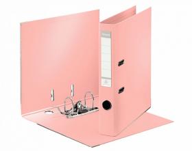 Segregator Esselte No.1 Solea, A4, szerokość grzbietu 50mm, do 350 kartek, jasnoróżowy
