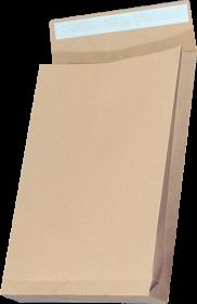 Koperta rozszerzana, NC, B4, z paskiem HK, 25 sztuk, brązowy