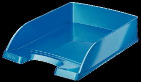 Półka na dokumenty Leitz Wow Plus, A4, plastikowa, niebieski