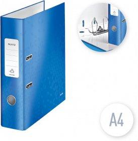 Segregator Leitz Wow 180°, A4, szerokość grzbietu 80mm, do 600 kartek, niebieski