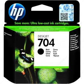 Tusz HP, CN692, nr 704, 480 stron, czarny
