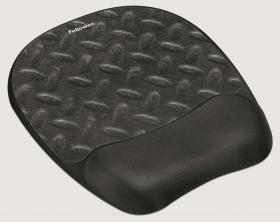 Podkładka pod mysz i nadgarstek Memory Foam Fellowes,200x20x230 mm, ślad opony
