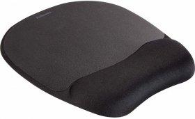 Podkładka piankowa pod mysz i nadgarstek Fellowes Memory Foam, 200x20x230mm czarna