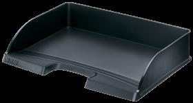 Półka na dokumenty Leitz Plus, długi bok otwarty, A4, plastikowa, czarny