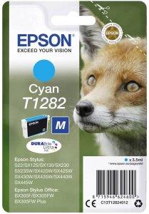 Tusz Epson T1282 (C13T12824012), 3.5ml, cyan (błękitny)