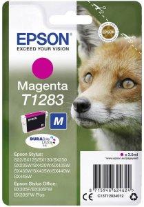 Tusz Epson T1283 (C13T12834012), 3.5ml, magenta (purpurowy)