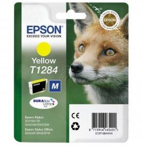 Tusz Epson T1284 (C13T12844012), 3.5ml, yellow (żółty)