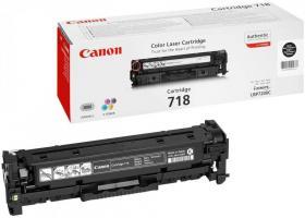 Toner Canon 2662B002AA (CLBP718,CRG718BK), 3400 stron, black (czarny)