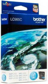 Tusz Brother (LC-985), 260 stron, cyan (błękitny)