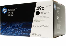 Toner HP 49X (Q5949XD), 2 sztuki, 2x6000 stron, black (czarny)