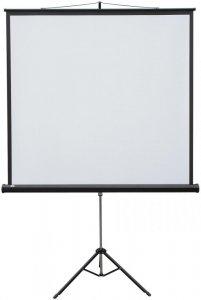 Ekran projekcyjny na trójnogu 2x3 POP, 122x165cm, biały