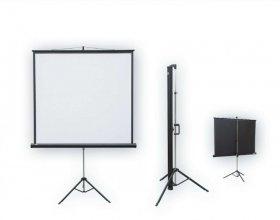 Ekran projekcyjny na trójnogu 2x3, POP, 145x195cm, biały