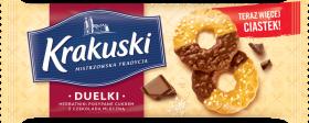 Herbatniki Krakuski Duelki, z czekoladą, 181g