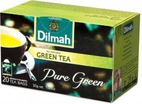 Herbata zielona w torebkach Dilmah Green Tea Natural, 20 sztuk x 1.5g