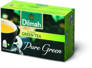 Herbata zielona w torebkach Dilmah Green Tea Pure Green, 20 sztuk x 1.5g