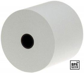 Rolka termiczna Drescher, 28mm x 25m, 55g/m2, biały