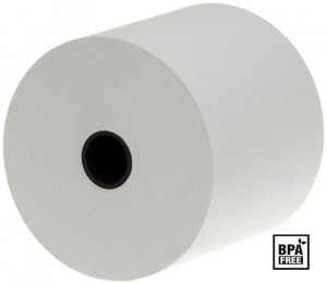 Rolka termiczna Drescher, 57mm x 30m, 48g/m2, BPA Free, biały