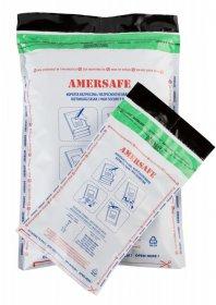 Koperta bezpieczna Amersafe, A5/K70, z paskiem HK, 500 sztuk, szary