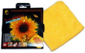 Ściereczka uniwersalna Słoneczna kuchnia, mikrowłókno, 32x32cm, 1 sztuka, żółty