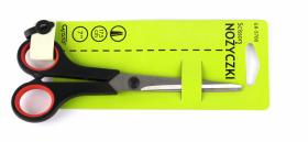 Nożyczki biurowe Grand, z miękkim uchwytem Soft, 17.5cm, czarne