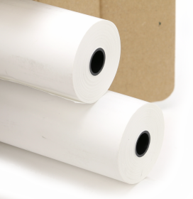 Papier telefaksowy Drescher, 216mm x 30m, 48g/m2, biały