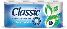 Papier toaletowy Velvet Classic, 2-warstwowy, 8 rolek, biały