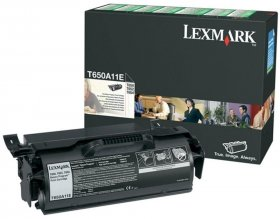 Toner Lexmark (T650A11E), 7000 stron, black (czarny)