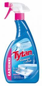 Płyn do mycia łazienek Tytan, kamień i rdza, z rozpylaczem, 0.5l