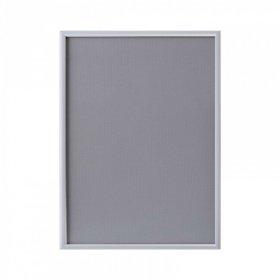 Ramka plakatowa zatrzaskowa Artimega, ostre narożniki, A3, 1 sztuka, srebrny