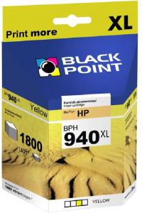 Tusz Black Point BPH940XLY (C4909AE), 28ml, yellow (żółty)