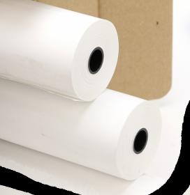 Papier telefaksowy Drescher, 210mm x 15m, 55g/m2, biały