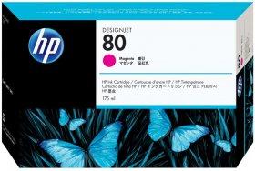 Tusz HP 80 (C4874A), 175ml, magenta (purpurowy)