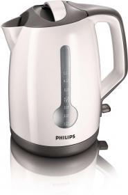Czajnik elektryczny Philips HD 4649/00, 1.7l, biało-szary